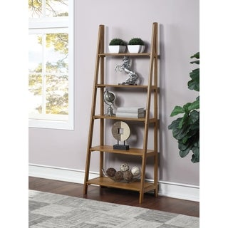 Link to Bandon 5 Shelf Ladder Bookcase Similar Items in Bookshelves & Bookcases