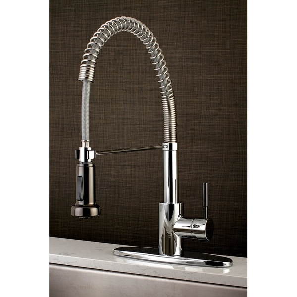Kaiser Single-Handle Pre-Rinse Kitchen Faucet. Opens flyout.