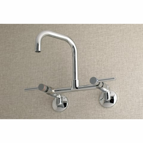 Concord 8-Inch Adjustable Center Wall Mount Kitchen Faucet