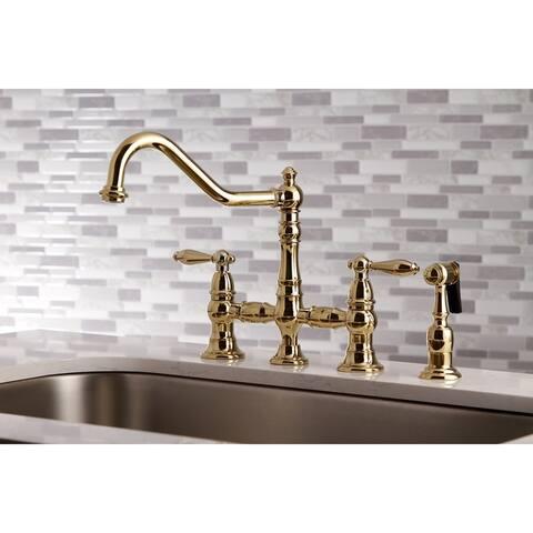Restoration Kitchen Faucet with Side Sprayer