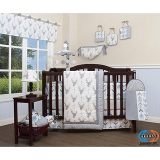 GEENNY Woodland Deer 13 Piece Baby Nursery Crib Bedding Set