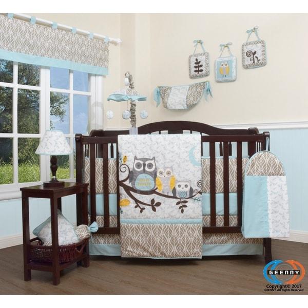 Baby Boy Constructor GEENNY Boutique 13 Piece Crib Bedding Set