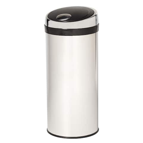 Creative Home 30L Round Push to Open Trash Can