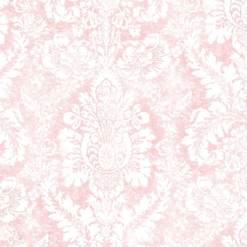 Valentine Damask Wallpaper in shades of Pink