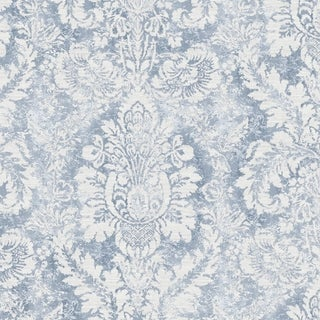Link to Valentine Damask Wallpaper in Pink, Khaki & Grey Similar Items in Wall Coverings