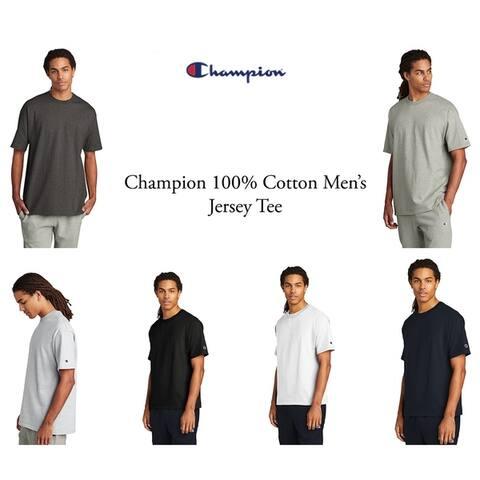 Champion Men's Cotton Jersey Tee