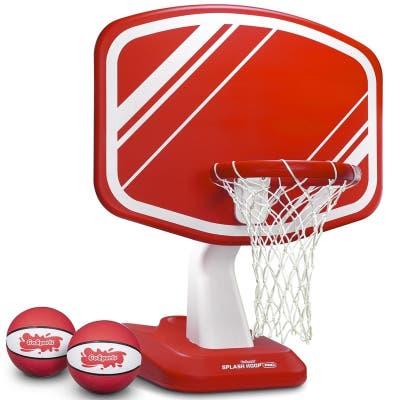 Splash Hoop PRO Pool Basketball Game Includes Hoop, 2 Balls and Pump