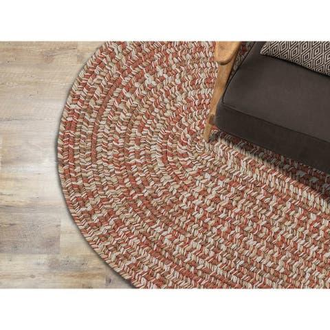 Colonial Mills Carrington Tweed Indoor Outdoor Braided Rug