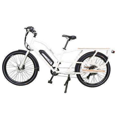 Gopowerbike GoCargo Electric Bike White