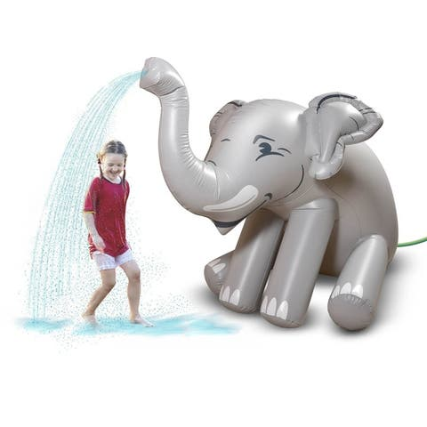GoFloats Giant Inflatable Elephant Party Sprinkler