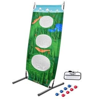 GoSports BattleChip Vertical Challenge Backyard Golf Game
