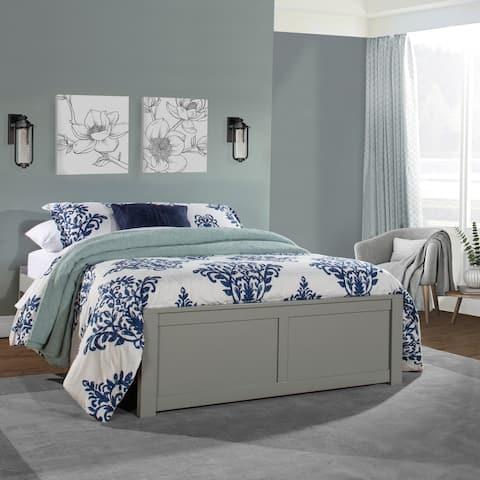 Pulse Full Platform Bed, Gray