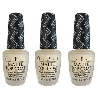 Link to OPI Lacquer-Matte Top Coat 3 PACK Similar Items in Nail Care