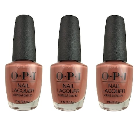 OPI Lacquer-Chocolate Mousse 3 PACK