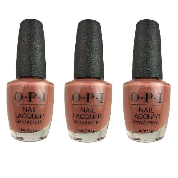 OPI Lacquer-Chocolate Mousse 3 PACK. Opens flyout.