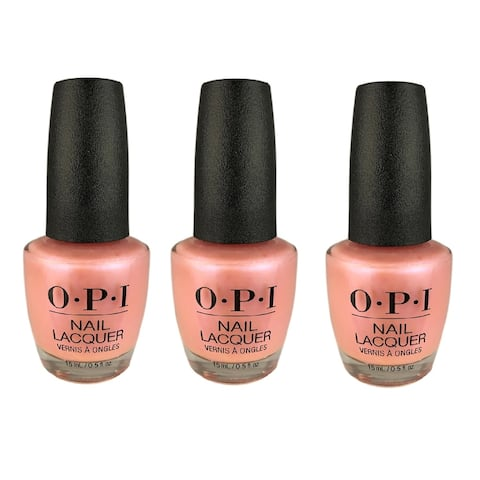 OPI Lacquer-Rosy Future 3 PACK