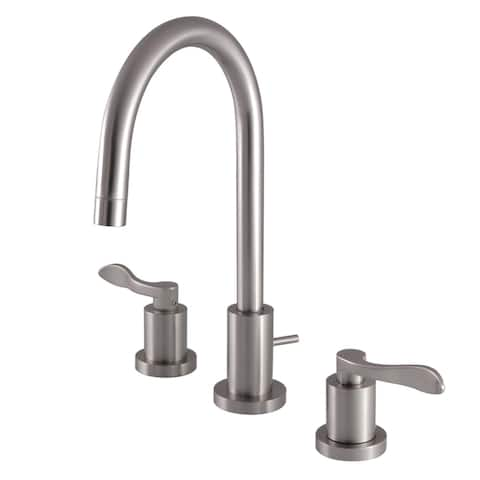 Mini-Widespread Bathroom Faucet in Brushed Nickel