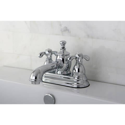 French Country 4-Inch Centerset Bathroom Faucet