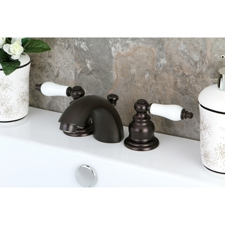Victorian Mini-Widespread Bathroom Faucet