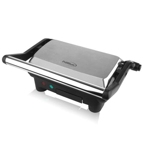 Electric Panini Press, Sandwich Maker and Indoor Grill