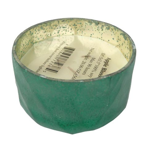 A&B Home Apple Blossom Scented Soy Wax Candle