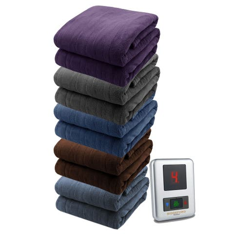 Biddeford Soft Microplush Electric Heated Warming Blanket Digitalpod