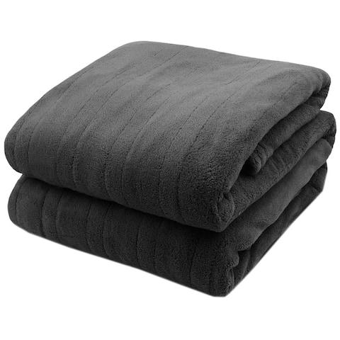 Biddeford Soft Microplush Electric Heated Warming Blanket Digitalpod