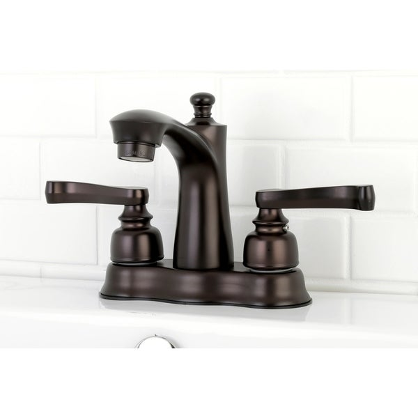Royale 4-Inch Centerset Bathroom Faucet. Opens flyout.