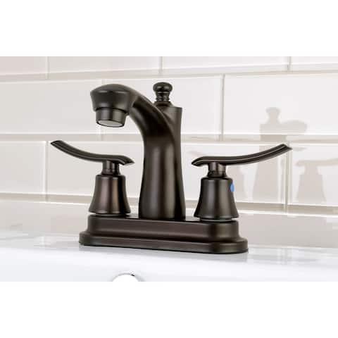 Jamestown 4-Inch Centerset Bathroom Faucet in Oil Rubbed Bronze