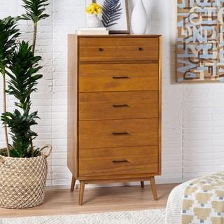 Link to OkiOki Mid-Century Five Drawer Dresser Similar Items in Bedroom Furniture