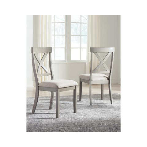 Parallen Gray Dining Side Chair, Set of 2