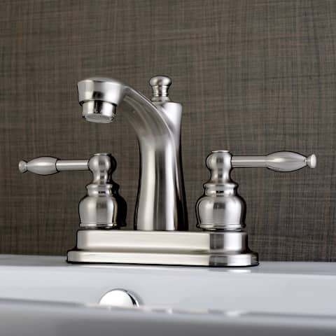 Knight 4-Inch Centerset Bathroom Faucet in Brushed Nickel