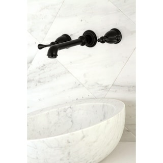 Link to English Country Two-Handle Wall Mount Bathroom Faucet Similar Items in Faucets