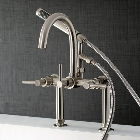 Concord 7-Inch Deck Mount Clawfoot Tub Faucet