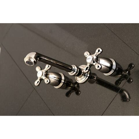 English Country Wall Mount Roman Tub Faucet
