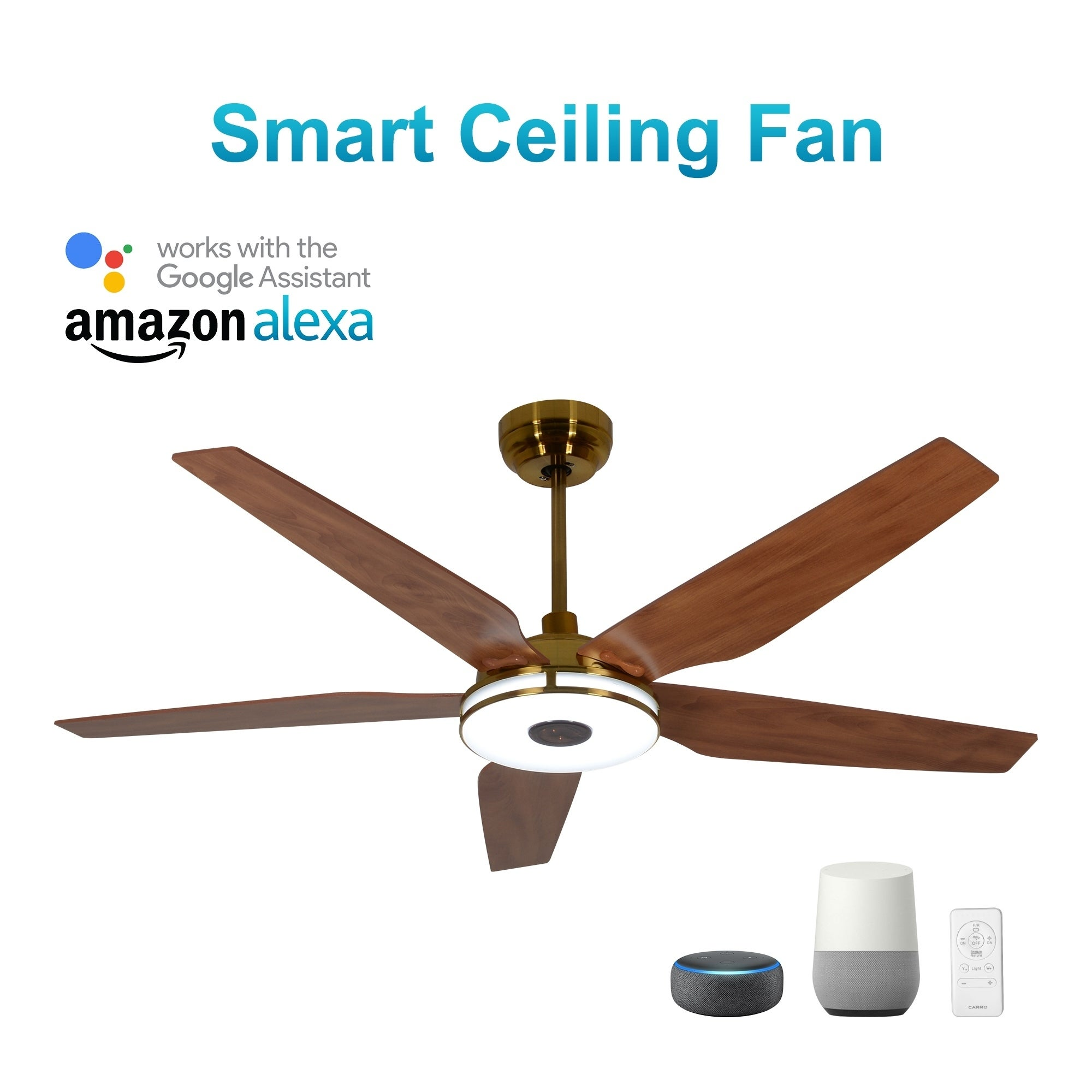 Smart Ceiling Fan With Remote