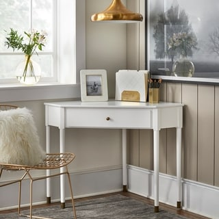 Link to Lifestorey Mesa Mid-Century Corner Desk Similar Items in Desks & Computer Tables