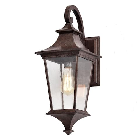 Tannery Bronze Finish Die-cast Aluminium Outdoor Wall Lantern - Tannery Bronze