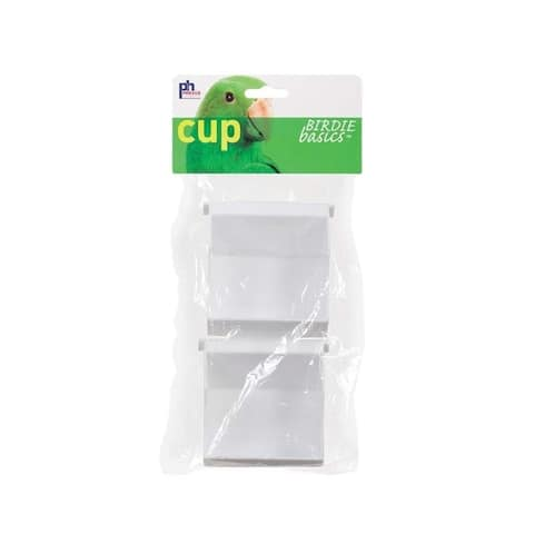 Prevue Pet Products Universal Outside Access Plastic Cup 2pk