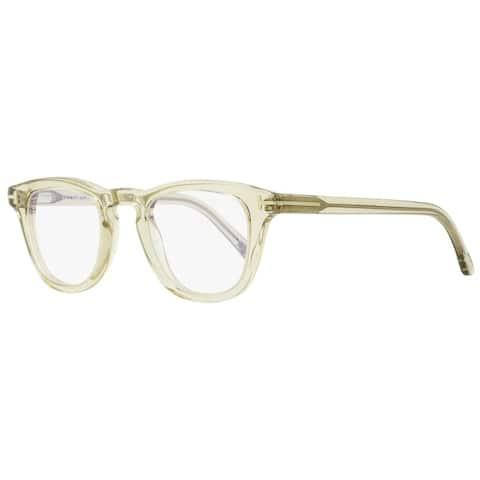 Tom Ford TF5488B 20A Unisex Transparent Gray 47 mm Eyeglasses - Transparent Gray