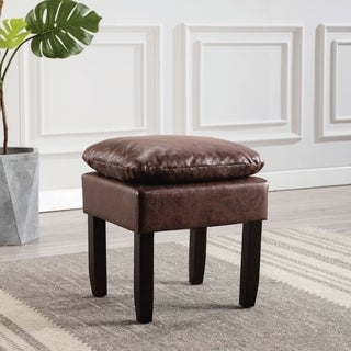 Link to Kotter Home Square Pillowtop Ottoman Similar Items in Living Room Furniture