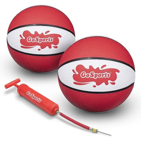 GoSports Red Water Basketballs Set of 2