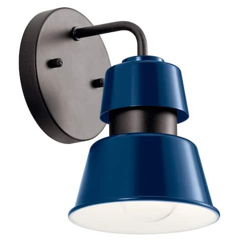 Kichler Lighting Lozano 1-Light Outdoor Wall Light Catalina Blue
