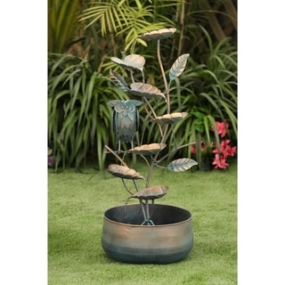 Link to Metal Cascading Leaves Outdoor Fountain Similar Items in Outdoor Decor