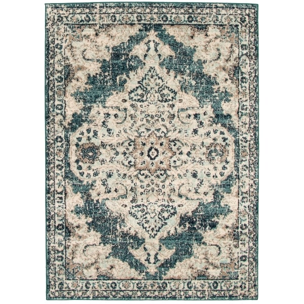 ECARPETGALLERY Rainbow Vintage Traditional Rug. Opens flyout.