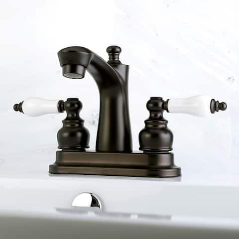 Victorian 4-Inch Centerset Bathroom Faucet