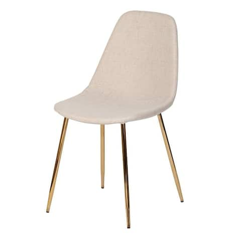 Silver Orchid Terry Taupe Dining Chair