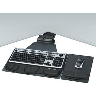 Fellowes Professional Series Corner Executive Keyboard Tray