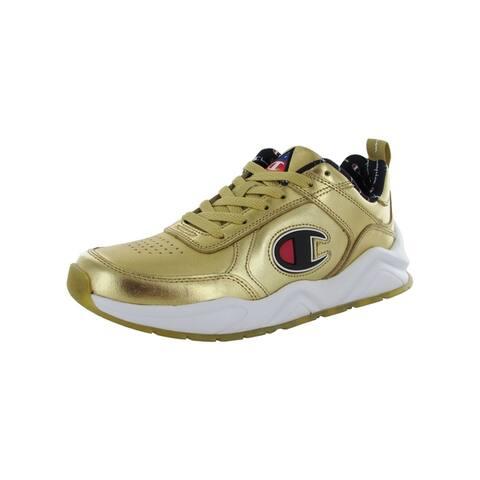 Champion Mens '93Eighteen Metallic' Leather Sneakers