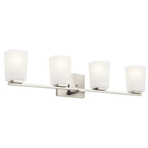 Kichler Lighting Roehm 4-Light Vanity Light Brushed Nickel